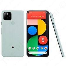"Unlocked Google Pixel 5 5G Ga01986-Us 5.96"" 128Gb Sorta Sage Green Smartphone"