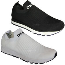 DKNY Womens Slip On Trainers Sneakers Shoes Joggers