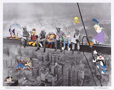 "Warner Bros. Looney Tunes animation art ""Lunch break"" Canvas L.E. /500 & COA"