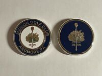 (1) Rare Iconic Merion Golf Club Club Double-Sided PRG Medallion Golf Marker