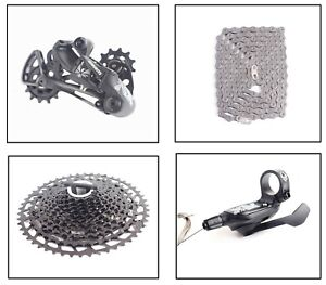 Sram Nx Eagle Groupset Kit 12Speed 11-50T Cassette Chain Trigger rear Derailleur