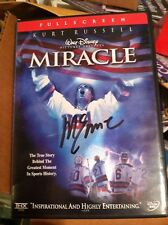 "MIKE ERUZIONE 1980 USA OLYMPIC HOCKEY MIRACLE ON ICE AUTOGRAPHED ""MIRACLE"" DVD"