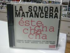 LA SONORA MATANCERA CD ESTE CHA CHA CHA 1996