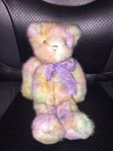 "Princess Soft Multi-Color Teddy Bear Plush 13"""
