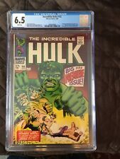 Incredible Hulk 102 CGC 6.5 White Pages