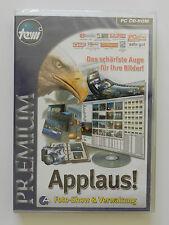 PC CD-ROM Applaus Foto Show & Verwaltung Neu originalverpackt