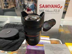 Samyang MF 14mm F2.8 FULL FRAME - Nikon Z Mount