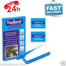 Skin Tagband Tag Remover Device Micro Medium To LargeTags Fast Effective Skintag