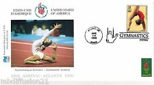 1996**FDC 1°JOUR**COMITE INTERNATIONAL OLYMPIQUE-GYMNASTIQUE-ATLANTA**TIMBRE USA