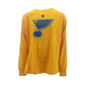 St. Louis Blues NHL Youth Size Reebok official Long Sleeve Shirt New With Tags