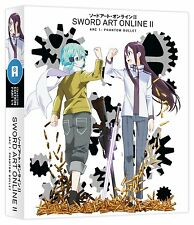 Sword Art Online II Series 2 Part 1 Collectors Blu ray & DVD New Sealed ANIME AL