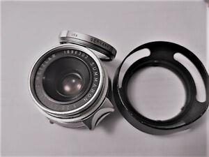 Leica Leitz Summaron-M 1:2,8/35 mm ** Weitwinkelobjektiv mit Leica M-Bajonett **