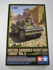 Tamiya 1/48 scale 1/48 British Dingo MkII Armoured Scout Car