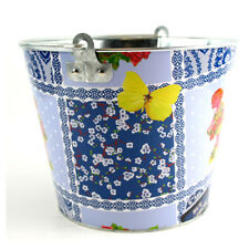 Rue Dauphine Designs Beer Bucket, Galvanised Tin with handle