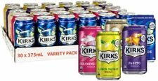 Kirks Variety Soft Drink Multipack Cans 30 x 375ml Au Post - FREE SHIPPING!!