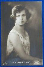 SAVOIA Sua Altezza Reale  MARIA JOSE' postcard  no viaggiata  f/p#22004