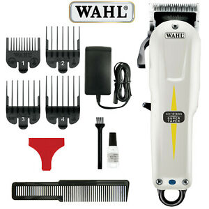 WAHL PROFESSIONAL SUPER TAPER CORDLESS HAIR CLIPPER FREE DELIVERY UK SELLER