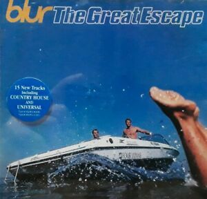 Blur-The Great Escape CD.1995 Parlophone FOODCD 14.Country House/The Universal+