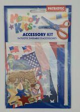 Memory Kits: Accessory Kit Patriotic New Sealed