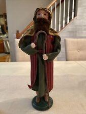 BYERS CHOICE 2017 Nativity Series Shepard Man Adult Size -read Description