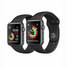 Apple Watch Series 2 42mm Space Gray Aluminum Case w/Black Sport Band GPS