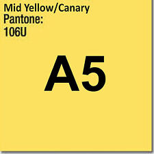80 gsm A5 Coloraction printer & photocopier paper 500 sheets MID YELLOW CANARY