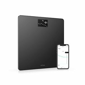 Withings Body - Smart Weight & BMI Wi-Fi Digital Scale with smartphone app, B...