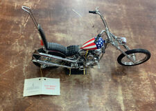 FRANKLIN MINT Harley Davidson Captain America Chopper Easy Rider Chopper  Bike