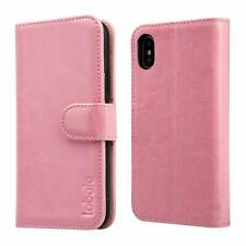 Wallet Case iPhone XS Max Magnetic Closure Flip Leather Folio Cover Card Slots