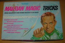 GILBERT  MARTIAN MAGIC TRICKS  1964  BOXED  MY FAVORITE MARTIAN  RAY WALSTON