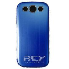 Funda Rigida Fina p/ Samsung Galaxy S3 Carcasa Azul Metalizada SIII Nuevo  s03