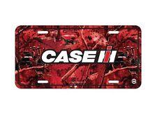 Case IH CAMO License Plate