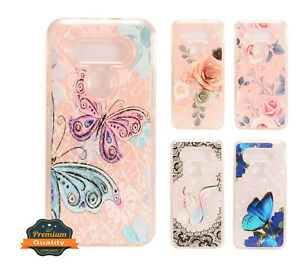 For LG K51 / Reflect Image Hybrid Impact Bumper Rubber Silicone Case Slim Cover