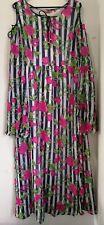 Ladies Boho Long Floral Print Dress