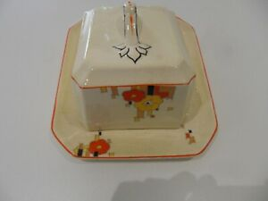 Vintage Homeleigh Mayfair cheese dish and cover Reg 779736