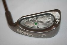 Ping ISI 5 Iron with Cushin JZ standard flex steel shaft and Lamkin midsize grip