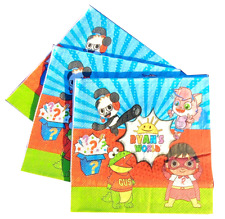 RYANS WORLD REVIEW CUPS PLATE BALLOON BANNER PARTY DECORATION SUPPLIES TABLE