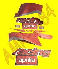 SERIE ADESIVI DECALCO CARENE NERO DIABLO APRILIA RS 125  2001   8167643