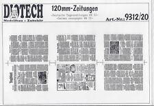 Deutsche Tageszeitungen WWII 1:16/120mm von DIOTECH