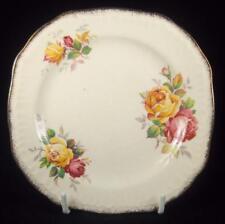 Swinnertons 'Luxor Vellum' Pink & Yellow Roses Side Plate (3 Available)