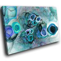 3 MODERN PLAIN DUCKEGG BLUE//TEAL FABRIC WALLHANGINGS
