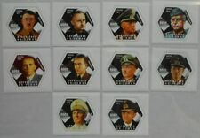 Leaders of Germany in World War II Tchad Chad SET 10 hexagon stamps tchad2014-16