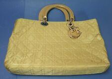 CHRISTIAN DIOR - Lady Dior Handtasche / Handbag - Nylon - Beige - #16343