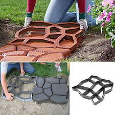 Floor Path Maker Mould Concrete Mold DIY Paving Durable for Garden Lawn Reusable