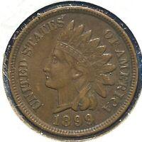 1899 1C Indian Cent (60398)