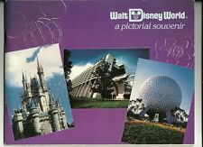 1983 Walt Disney world Pictorial Souvenir Book Vintage OOP