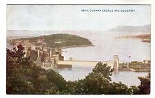 Conway Castle & Deganwy - Photo Postcard 1949