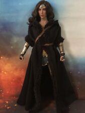 "1/6th Medieval Times Wonder Woman Black Cloak+Belt F12"" Female Body Doll TOYS"