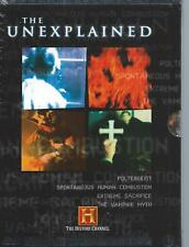 N#W SEALED 2 DVD BOX THE UNEXPLAINED - HISTORY CHANNEL - ENGLISH  / NL  R2