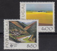 CEPT: ** Mi 1360-1361. Ausgabe PORTUGAL 1977 postfrisch MW 9,- (JKC-109#1)